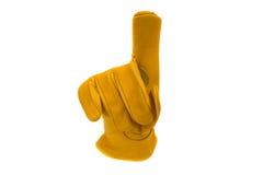 работа перчатки Стоковое Изображение RF
