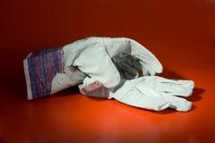 работа перчаток Стоковое Изображение RF