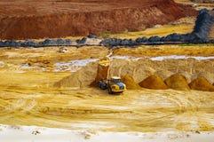 Работа песка стоковое изображение rf