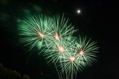 Работа пожара красоты для празднует Стоковое Фото