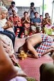 Работа посвящения в Таиланде Стоковые Фотографии RF