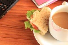 работа сандвичей Стоковое Фото