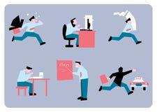 Работа стресса офиса Стоковые Фотографии RF