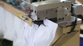 Работа фабрики ткани видеоматериал