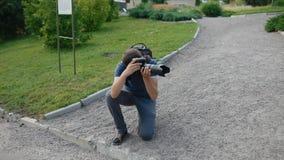 Работа фотографа внешняя видеоматериал