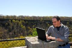 работа человека outdoors ся Стоковые Фото