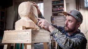 Работа arpenter ¡ Ð в мастерской Стоковые Изображения