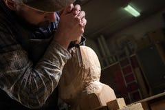 Работа arpenter ¡ Ð в мастерской Стоковые Фотографии RF