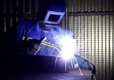 работа welder изображения 01 штрафа Стоковое Изображение RF