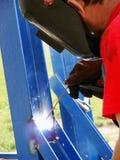 работа welder фабрики Стоковое Изображение RF