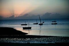 работники восхода солнца Стоковые Фотографии RF