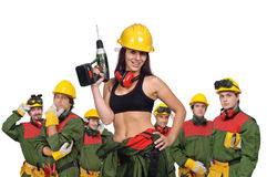 работники команды стоковое фото rf