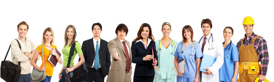 работники людей Стоковая Фотография RF