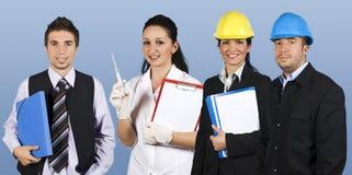 работники людей группы Стоковое Фото