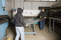 работники машины Стоковые Фотографии RF