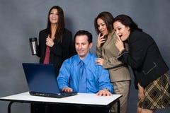 работники офиса Стоковые Изображения RF