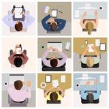 Работники офиса бесплатная иллюстрация