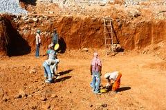 работники работы места азиатской конструкции индийские Стоковые Изображения