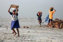 работники ребенка стоковая фотография rf