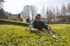 Работники сада Стоковые Фотографии RF
