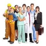 работники стоковое изображение rf