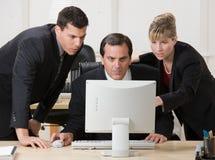 работники co дела сотрудничая Стоковая Фотография RF