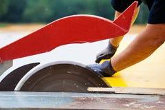16 2007 работников изображения в марше hague Голландии конструкции принятых местом Стоковые Фотографии RF