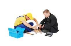 работник бизнесмена Стоковое Изображение RF