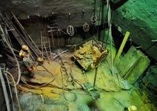 Работник в строительной площадке 8 вала Стоковые Фотографии RF