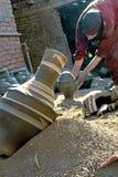 Работник гончарни стоковое изображение rf