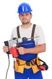 работник електричюеского инструмента Стоковая Фотография RF