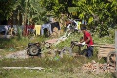 Работник деревни Стоковые Фото