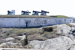 Работник искореняя граффити Стоковая Фотография RF