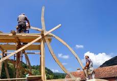 Работник каменщика Стоковое Фото