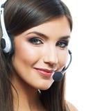 Работник обслуживания клиента женщины Стоковое Фото