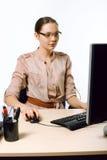 Работник офиса женщины Стоковая Фотография