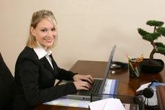 работник офиса стоковое изображение rf