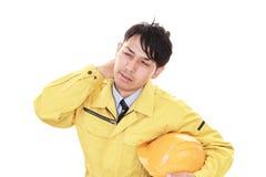 работник портрета утомленный Стоковые Изображения RF