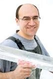 работник портрета стоковые фото