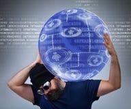 Работник поддержки информационной технологии Стоковое фото RF