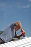работник работы конструкции стоковая фотография