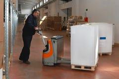 Работник склада стоковое изображение rf