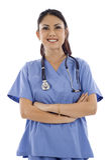работник службы здравоохранения внимательности Стоковые Изображения RF