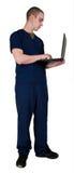 работник службы здравоохранения внимательности Стоковая Фотография