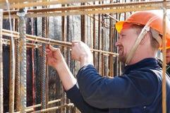 работник строительной площадки стоковое изображение