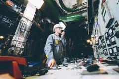 Работник электростанции Стоковая Фотография RF