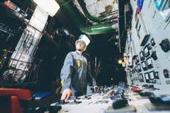 Работник электростанции Стоковые Изображения RF