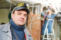 Работник электрика Стоковые Фото