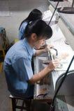 работник ювелирных изделий Стоковая Фотография RF