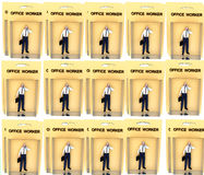 Работник 12 игрушки Стоковые Фото